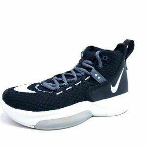 Nike Mens 6 Zoom Rize Team Black Basketball Shoes